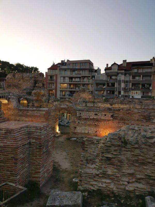 Roman thermae varna