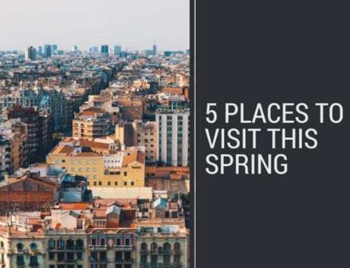 5 προορισμοί για να επισκεφθείς την άνοιξη