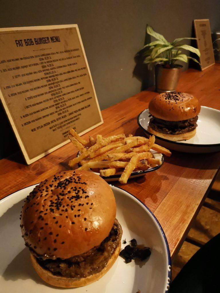 Fat bob burger Poznan