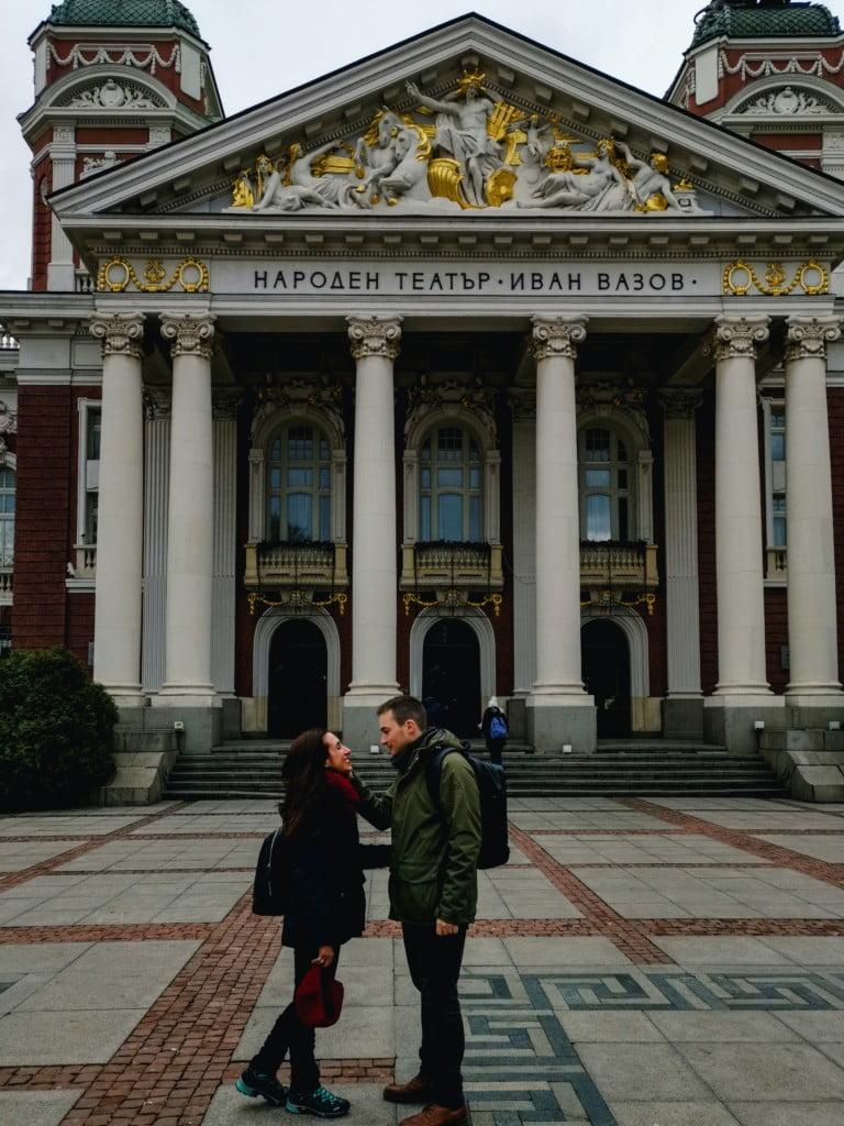 National Theatre Ivan-Vazov-Sofia