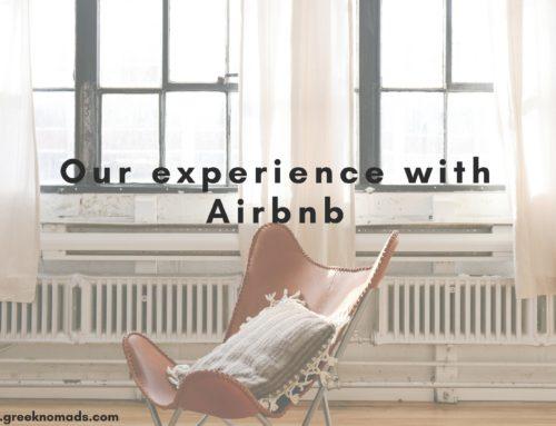 Η πρώτη μας εμπειρία με την Airbnb!