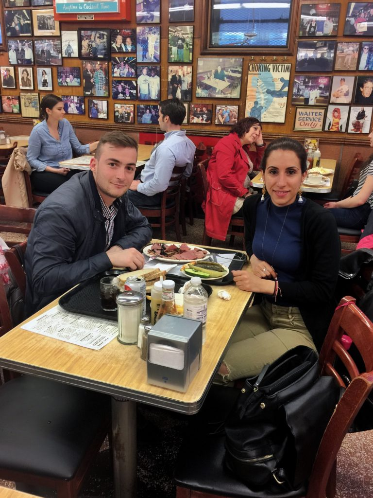Katz's delicatessen places to eat in New York