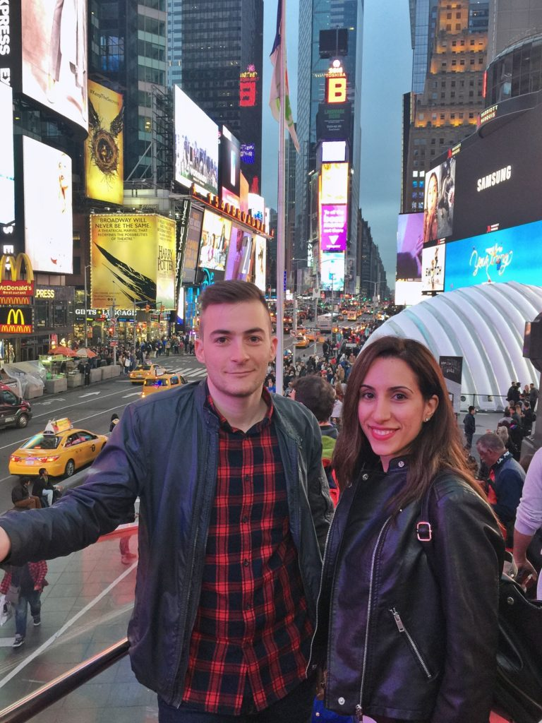Βόλτα στην Times Square