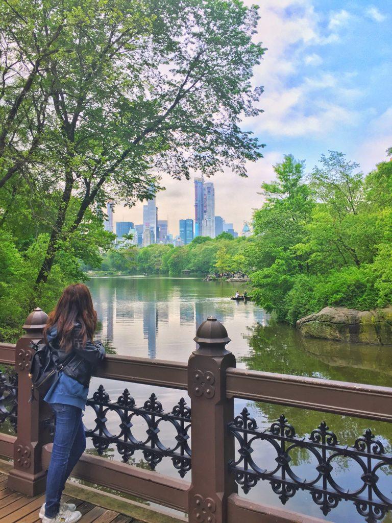 Χαζεύοντας το τοπίο στο Central Park