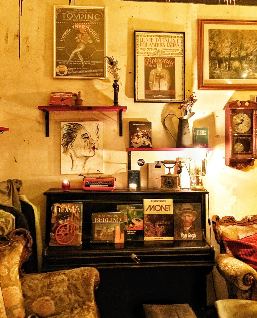 black market aperitivo bar rome