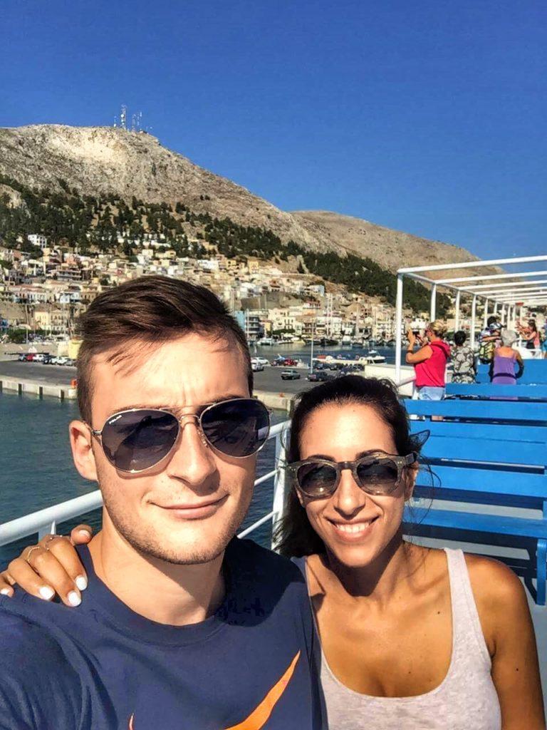 boat kalymnos