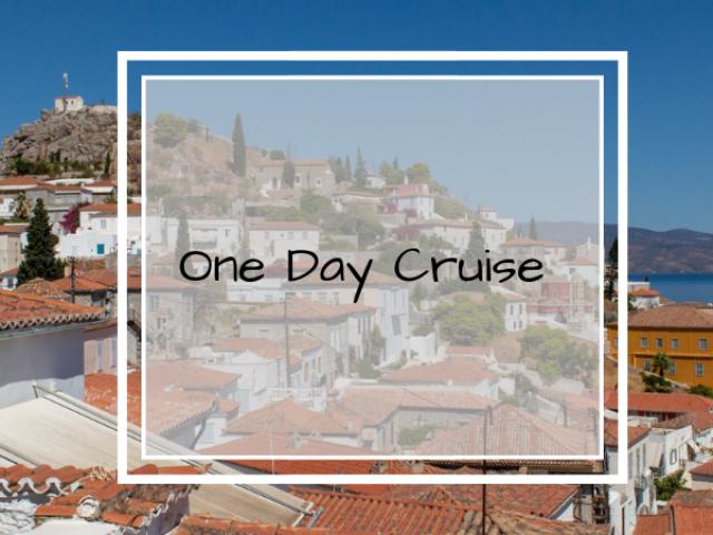 one day cruise saronic