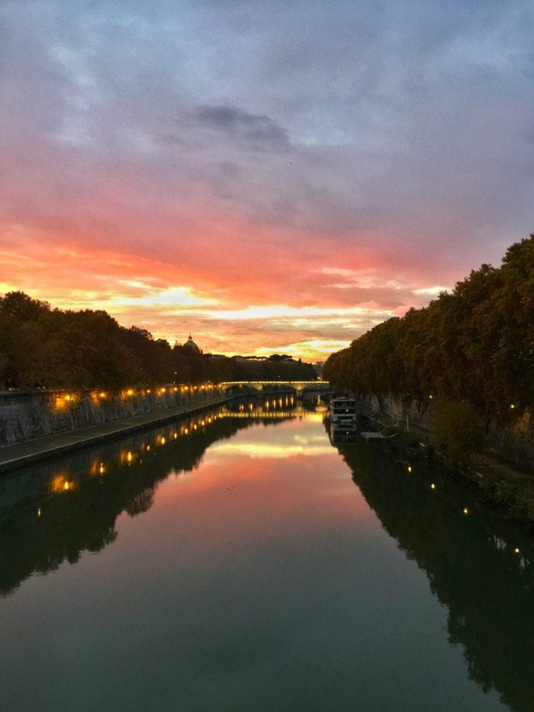 tiber river rome