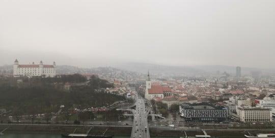 UFO view bratislava